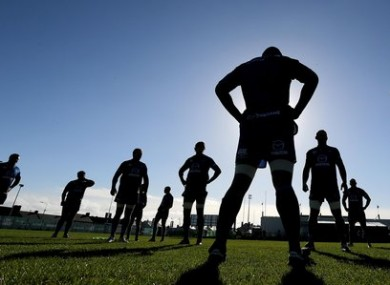 Connacht Training