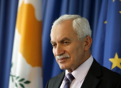 Cypriot finance minister Vassos Shiarly says his government is close to finalising a bailout deal with the Troika.