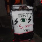 It's a 'scream van'. See?