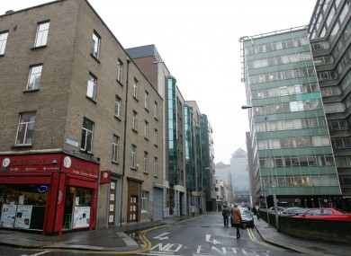 The Department of Health (right) on Poolbeg Street in Dublin city centre