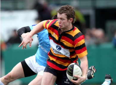 Matt Healy scored a brace of tries for Lansdowne.