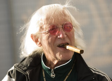 Sir Jimmy Savile in 2010.