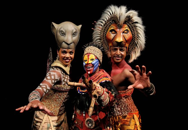 Lion King musical launch in Dublin