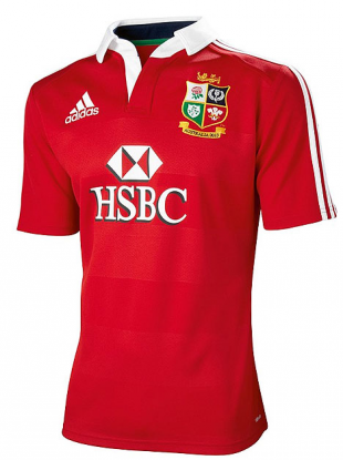The jersey that the Lions will wear in Hong Kong and Australia.