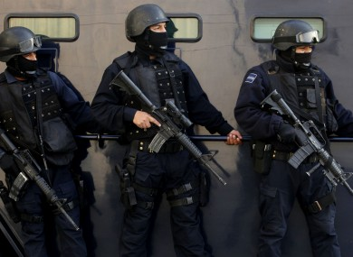Mexican federal police (File photo)