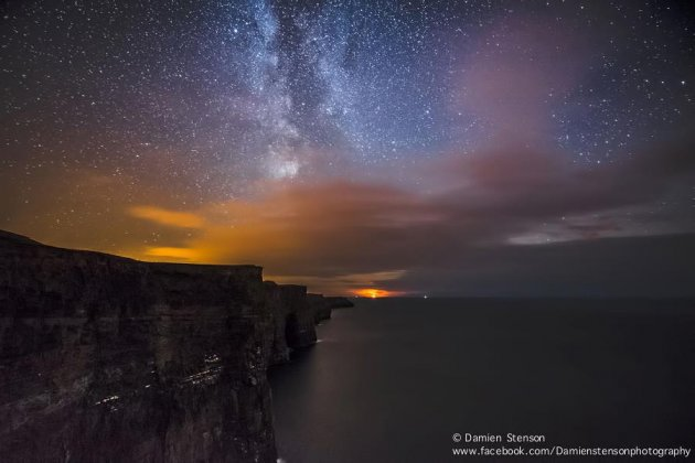 milky way cliffs