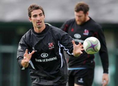 Ruan Pienaar is in line for his first Ulster start.