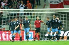 England held by Poland in rescheduled qualifier