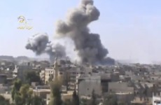 Syrian regime launches nationwide airstrikes