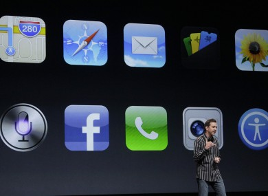 Scott Forstall, Apple's SVP of its iOS Software.