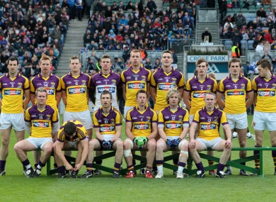 2012 has been a year to forget for the Wexford footballers.