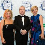Cathy Kelly, John Banville and Cecelia Ahern