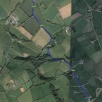 The N80 road, Maidenhead, Laois. Image: Google Maps.