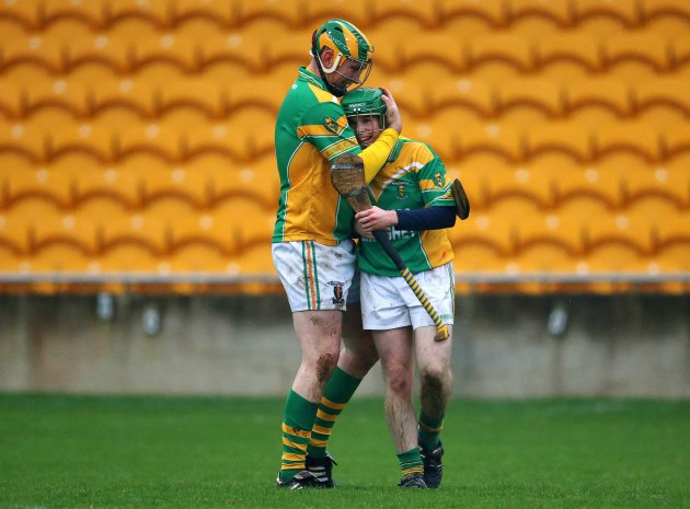 Peter Healion and Alan McConville celebrate 18/11/2012
