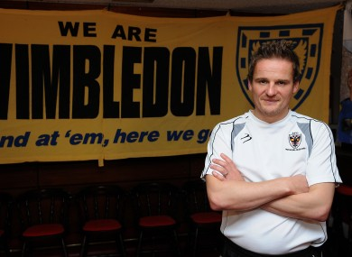 Wimbledon manager Neil Ardley this week. 