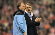 David Platt defends Man City chief's Roberto Mancini outburst
