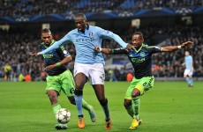 As it happened: Manchester City v Ajax, Champions League