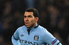 City's Tevez savages Neville for juggling roles
