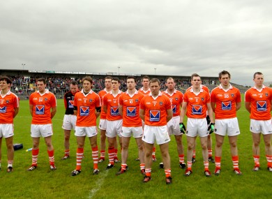The Armagh senior football team.
