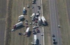 Two killed, dozens injured in 140 car pileup in Texas