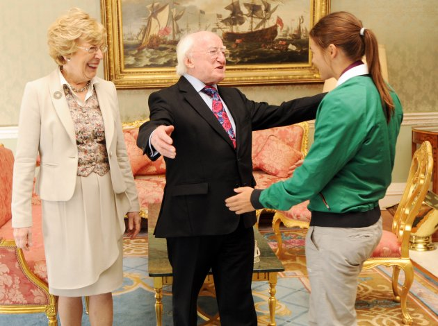21/9/2012 Team Ireland Homecomings to Aras