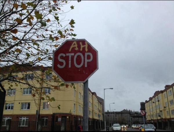ah stop sign