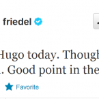Follow Brad Friedel's Twitter account for some begrudged appraisals of Hugo Lloris' performances, among other topics.