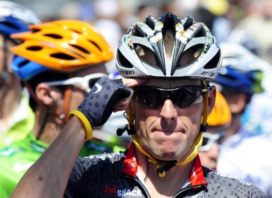 Lance Armstrong's team doctor denies ever seeing the cyclist dope.