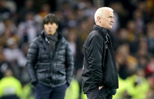 Joachim Low and Giovanni Trapattoni 12/10/2012