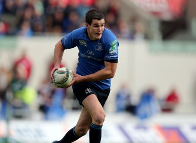 Jonathan Sexton scored a try against Zebre on Saturday.