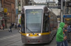 Services on red Luas line delayed due to failed tram