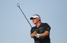 China's Zhang joint halfway leader of Australian PGA, Clarke on five-under