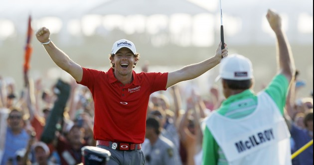 'I'd love to give myself a chance to win all 4 majors next year' – Rory McIlroy