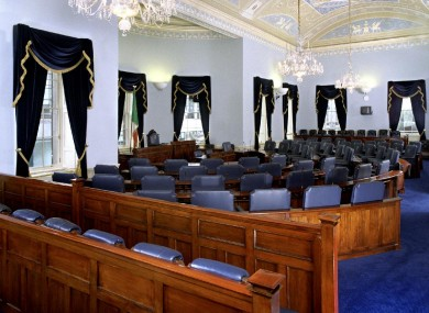 Seanad Éireann first met on December 11, 1922 - 90 years ago today.