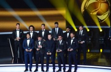 In a league of their own: La Liga stars dominate World XI