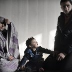 Hanin Handan, 20, her husband Rasmi, 26, and their son, currently live just outside of AL Jaleel camp in the wider Palestinian neighbourhood. They fled Syria with nothing but the clothes they were wearing.