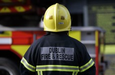 Fire services fight blaze at Cappagh Hospital