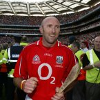 Corcoran collected three All-Ireland senior hurling medals as a player and won eight Munster senior titles (three football and five hurling). His efforts to claim Sam Maguire fell short with a final defeat for Cork against Derry in 1993.