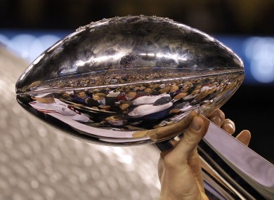 Super Bowl winners are awarded the Vince Lombardi Trophy.