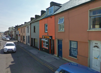 Barrack St in Waterford, where yesterday evening's burglary occurred.