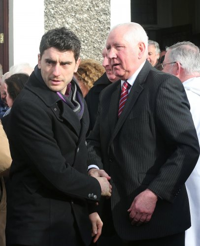 Bernard Brogan with Paddy Cullen 29/1/2013