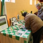 A tribute at St Patricks GAA club. (Image: Niall Carson/PA Wire)