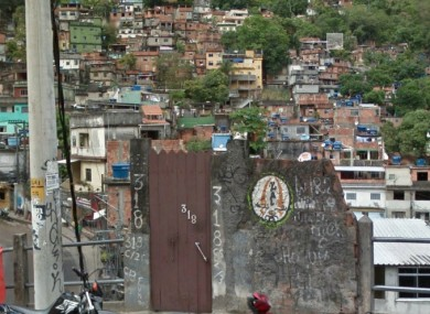 Favela da Rocinha, Rio de Janeiro, Brazil