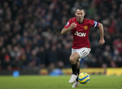 Giggs is still going strong in the Premier League at 39.