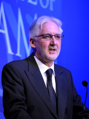 President of British cycling Brian Cookson (file photo).