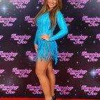 Lauren Goodger in fake tan and sparkles. Just another Saturday night out for the Only Way is Essex actor/person/star? (Image: Dominic Lipinski/PA Wire)