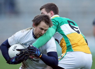 Seanie Johnston in action against Offaly yesterday.