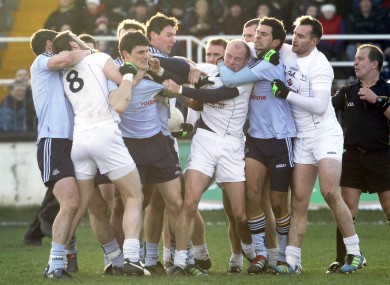 Dublin and Kildare players will face off in next Saturday's O'Byrne Cup final.