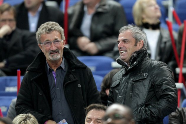 Eddie Jordan with Paul Mcginley at the game 18/11/2009