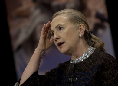 Hillary Clinton's blood clot was found during a routine examination following her concussion, which came when she fell ill after returning to the US from Ireland.